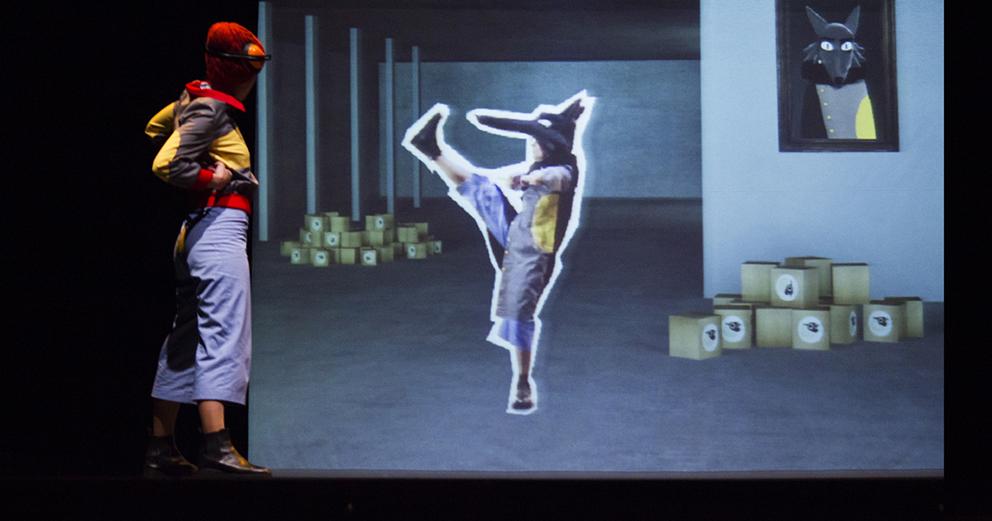 Lobo Mau - Oficina | Cinema – Técnica Cinema de Animação